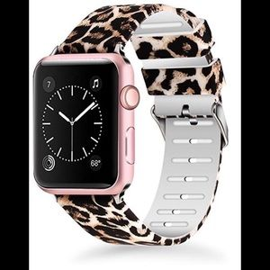 Apple Watch band leopard silicone 38/40mm New